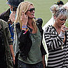 Kate Moss at Glastonbury Music Festival