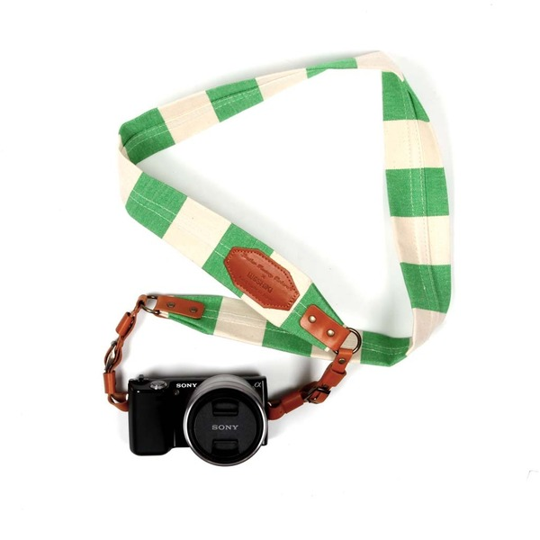 Union Border Stripe Camera Strap ($138)