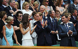Prince William and Kate Middleton act like regular fans at Wimbledon.