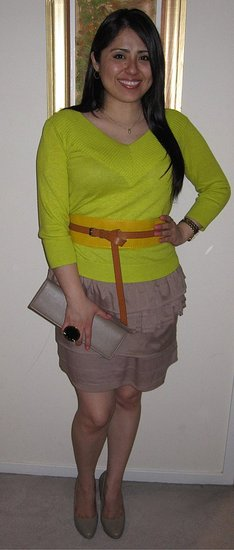 Neon colors and Neutral