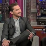 Shia LaBeouf Talks Rosie Huntington-Whiteley and Megan Fox on Letterman