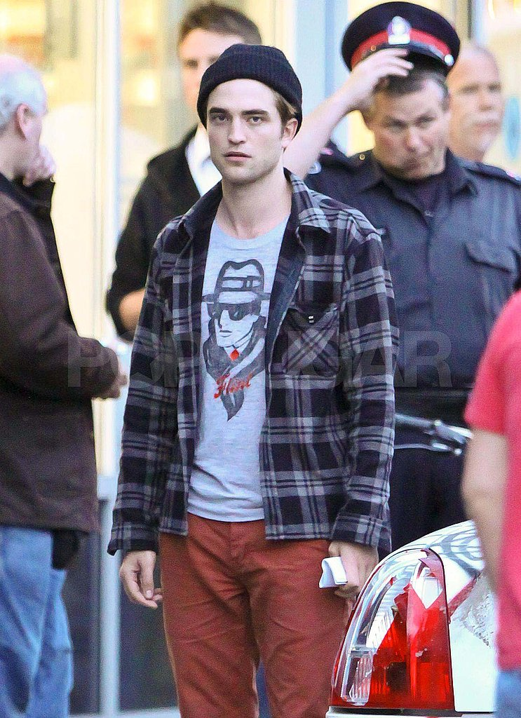 Robert Pattinson filmed Cosmopolis in Toronto.