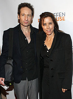 David Duchovny and Tea Leoni Split