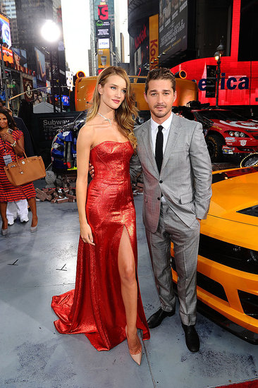 Shia LaBeouf and Rosie Huntington-Whiteley Make a Red-Hot Costar Couple at the NYC Transformers Premiere