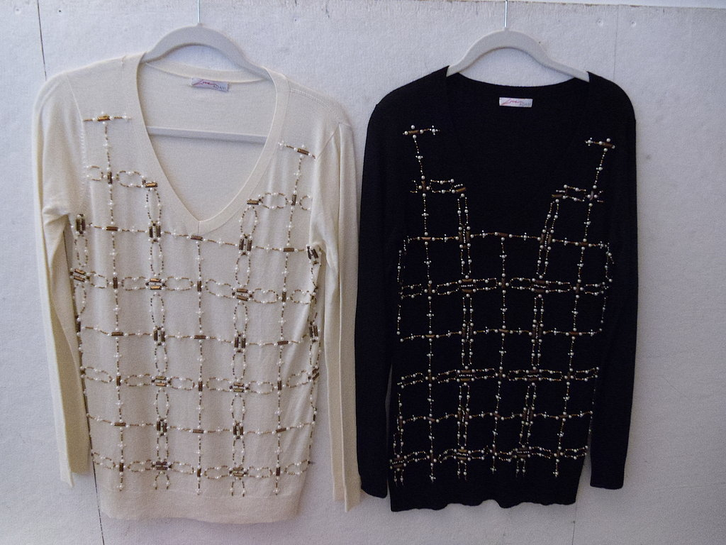 Embellished Sweater, $130