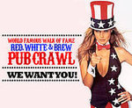 Red, White & Brew Pub Crawl