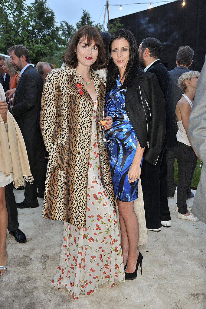 Jasmine Guiness in a Dolce & Gabbana dress, Liberty Ross in Emilio Pucci