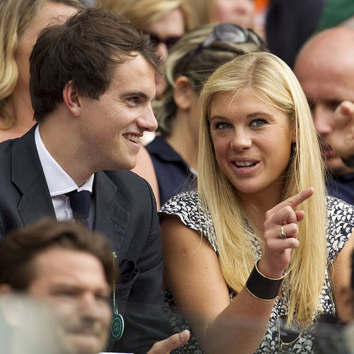 Chelsy Davy at Wimbledon With New Man