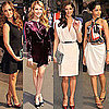 Ashley Greene and Minka Kelly at Ferragamo Show in NYC