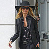 Kate Moss Pictures in London Ahead of Her Wedding With Jamie Hince