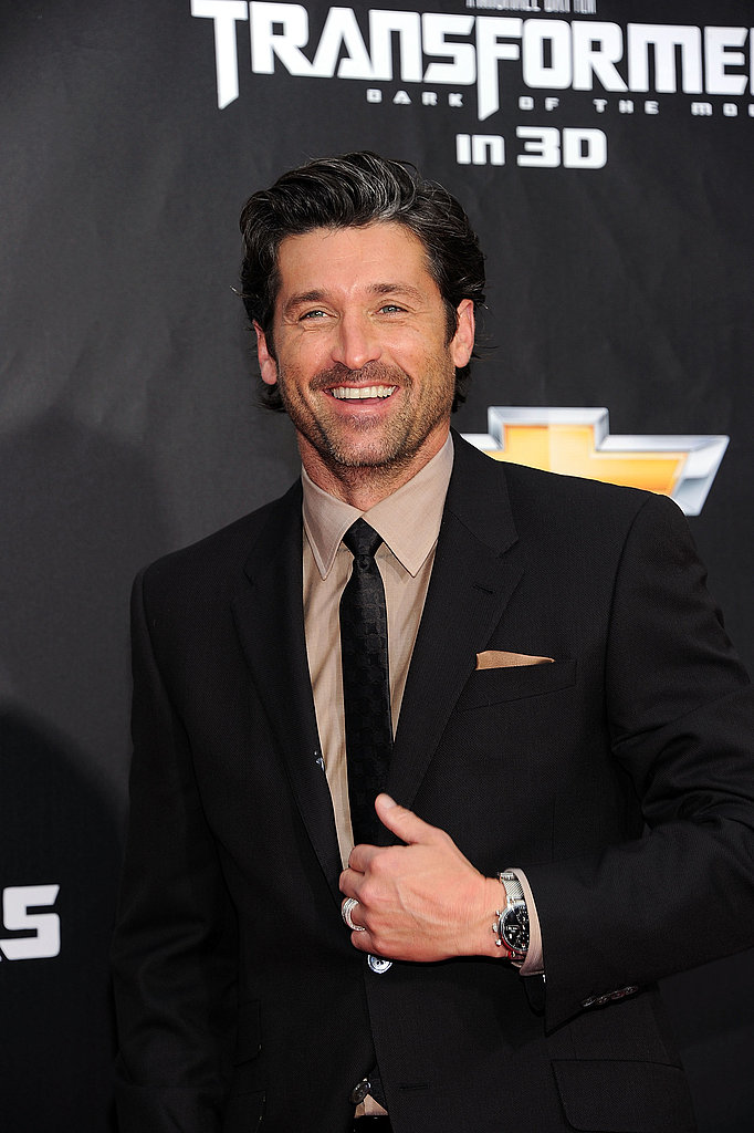 Patrick Dempsey at the Transformers: Dark of the Moon NYC premiere.