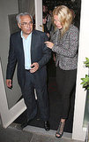 Gwyneth Paltrow left London hot spot La Petit Maison.