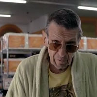 "Leonard Nimoy in Bruno Mars ""Lazy"" Video"