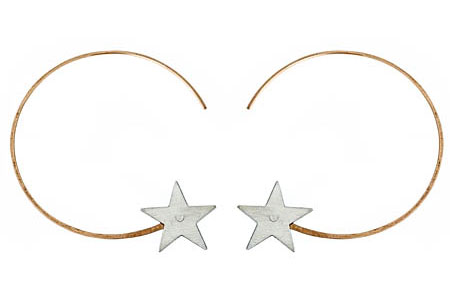 Star Earrings ($85)