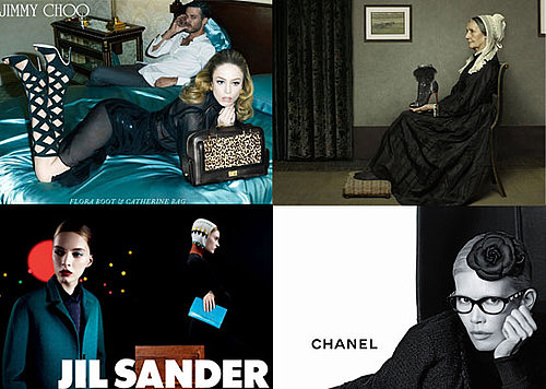 Roundup of the Autumn Winter Fall Campaigns, Including Chanel, Christian Louboutin, Chanel and Marc Jacobs