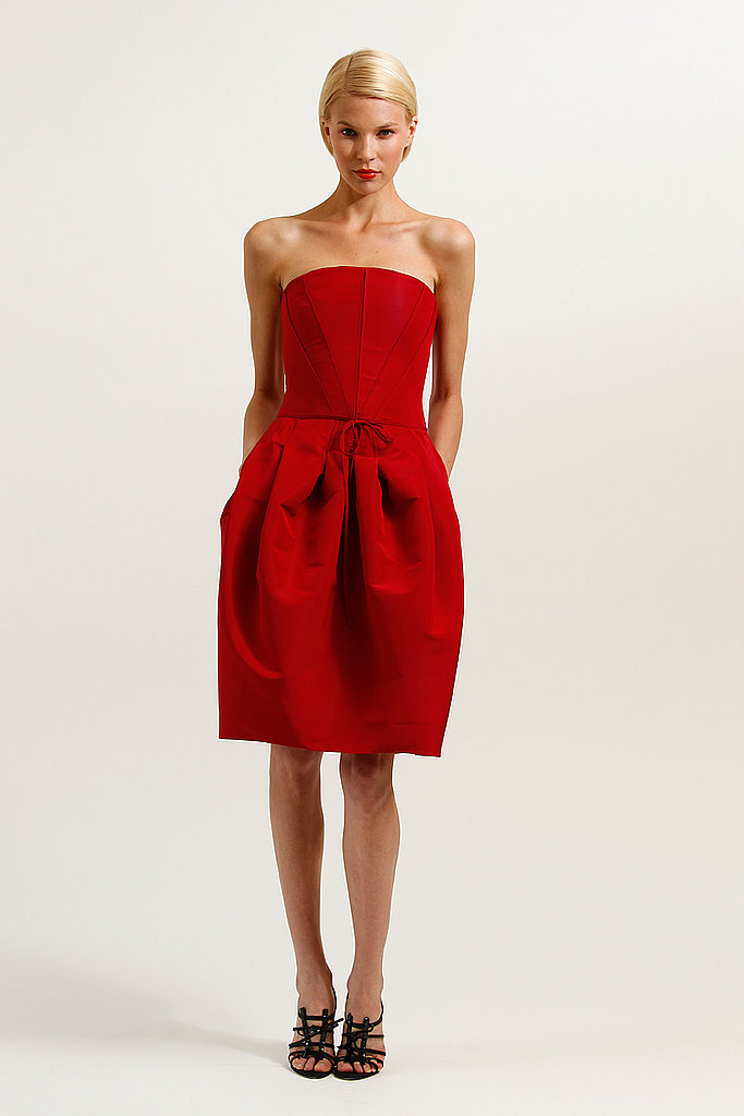 LITTLE RED DRESS Carolina Herrera