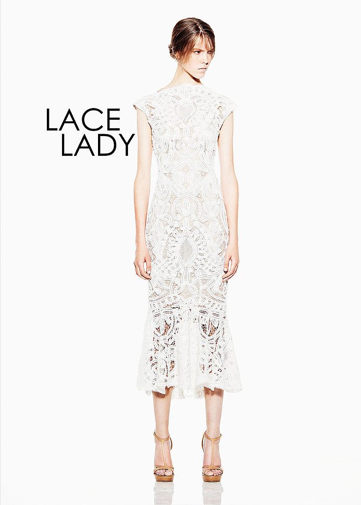LACE LADY Alexander McQueen   See all Alexander McQueen Resort 2012