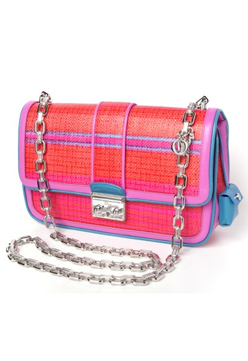 HOT PINK PURSE  Christian Dior   See all Resort 2012 Accessories