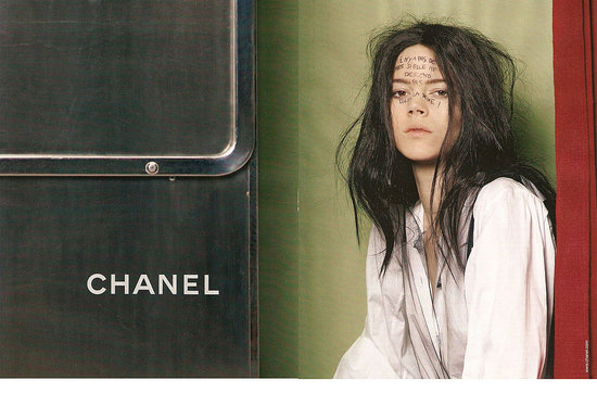 Freja Beha Erichsen Goes Feline in New Chanel Fall 2011 Ads