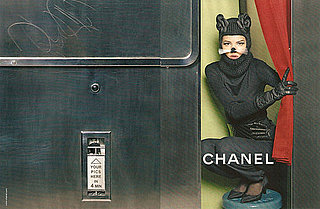 Freja Beha Erichsen as Cat in Chanel Fall 2011 Ad Campaign