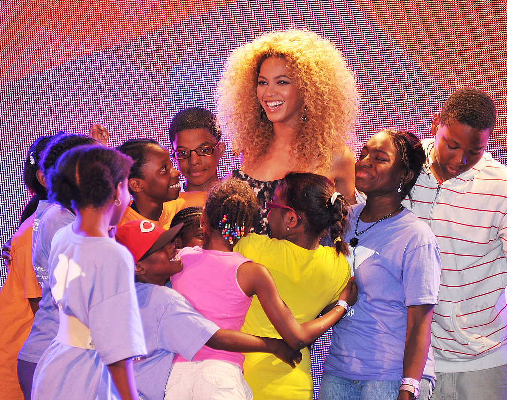 Beyoncé Knowles surprised fans at Target in East Harlem.