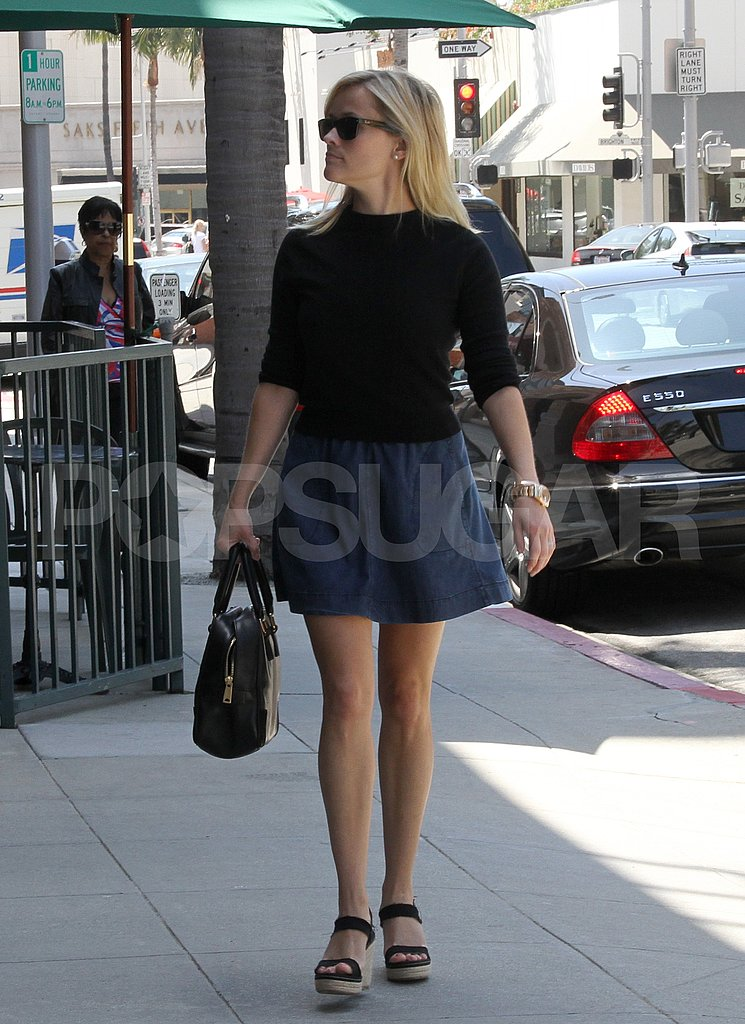 Reese Witherspoon Tackles Another Sunny LA Day Solo