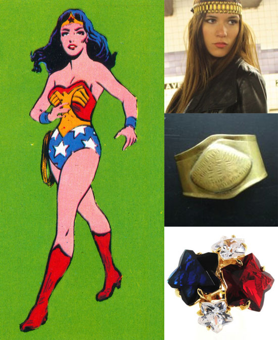 Wondrous Wonder Woman Jewels