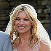 Kate Moss's Wedding Hair and Veil From Different Angles