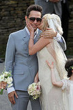 See Kate Moss's Full Galliano Wedding Dress as She Kisses New Husband Jamie Hince!