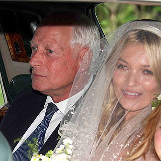 Kate Moss Wedding Pictures in a Veil