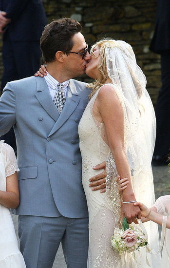 Kate Moss and Jamie Hince Wed: A First Glimpse of the Happy Couple — and the Gown!