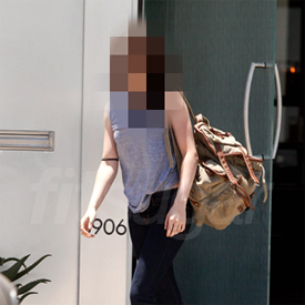 Picture of Twilight Actress Leaving Los Angeles Gym