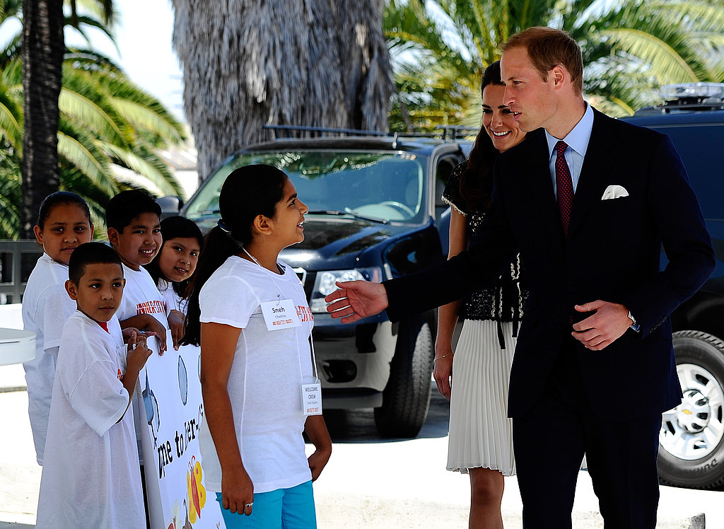Prince William and Kate Middleton's LA Visit — All the Pictures!
