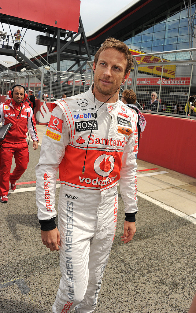 Jenson Button at the British Grand Prix.