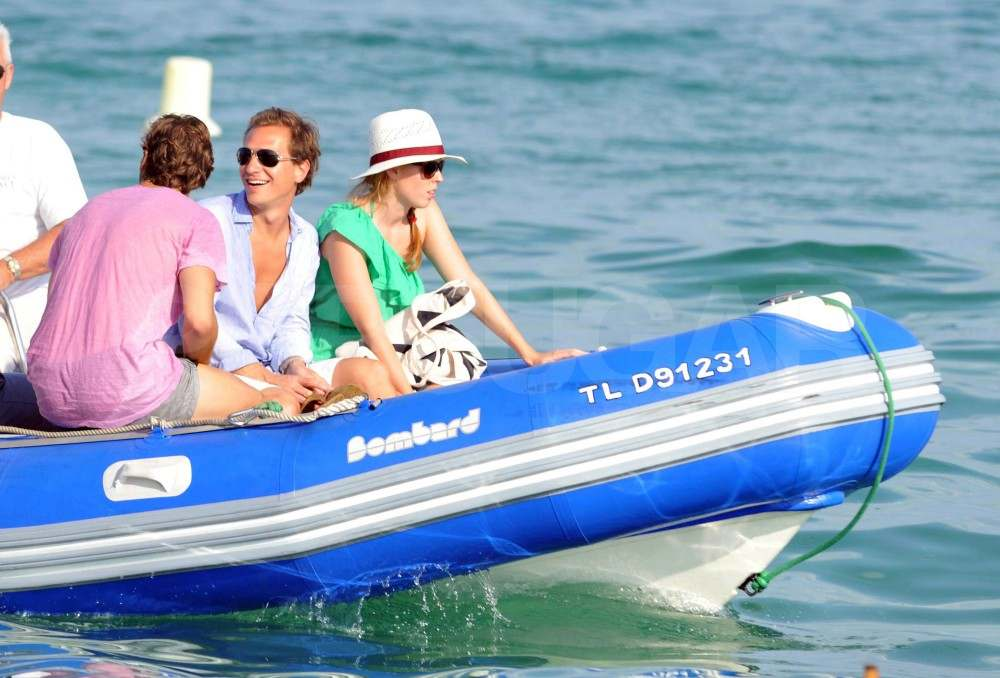 Princess Beatrice and Dave Clark in St. Tropez.