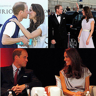 Prince William and Kate Middleton in California Pictures