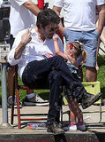 Ben Affleck and Jennifer Garner Get in the July 4 Spirit With Violet and Seraphina