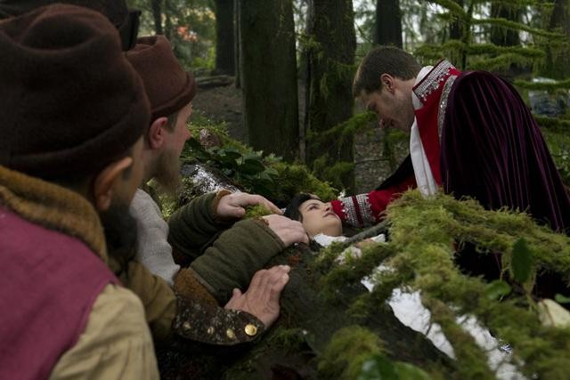 Josh Dallas on ABC's Once Upon a Time.  Photo copyright 2011 ABC, Inc.