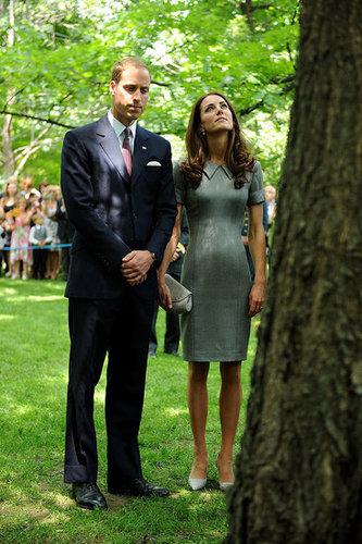 The sapling is meant to symbolize Prince William and Kate Middleton's love.