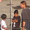 Video of Brad Pitt and Kids Maddon and Pax on the Set of World War Z in Malta