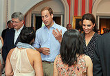 Prince William and Kate Middleton kicked off their Canadian visit with a casual barbecue.
