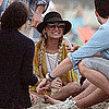 Nicole Richie Fourth of July in Malibu Pictures