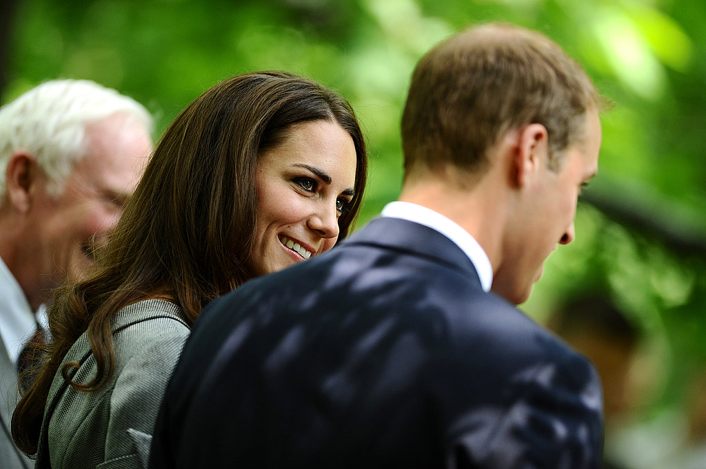 Prince William and Kate Middleton looked so in love during their Rideau Hall visit.