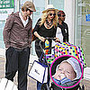 Rachel Zoe and Rodger Berman Shopping With Skyler in Malibu