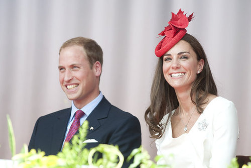Prince William and Kate Middleton were just in time to celebrate Canada Day.