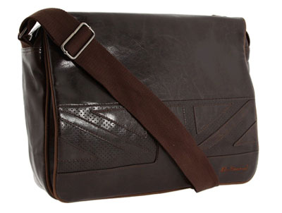 Ben Sherman Union Jack Messenger Bag