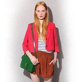 Dress Monster Bright Linen Blazer, $209