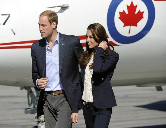 Prince William and Kate Middleton in Yellowknife.