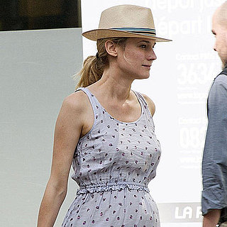 Diane Kruger at Lina's Restaurant in Paris, France, Pictures