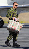 Kate Middleton's floral duffel bag.